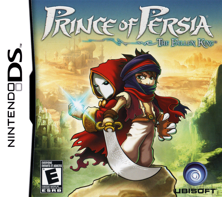 Prince of Persia - The Fallen King DS coverHQ (CP5E)