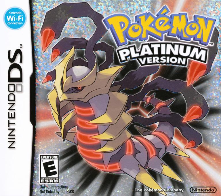 Pokémon - Platinum Version DS coverHQ (CPUE)