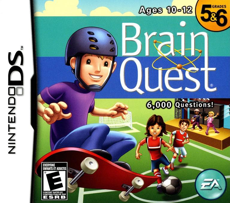 Brain Quest - Grades 5 & 6 DS coverHQ (CQBE)