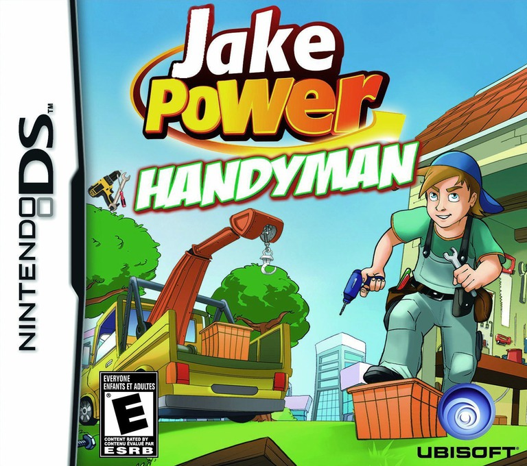 Jake Power - Handyman DS coverHQ (CRQE)