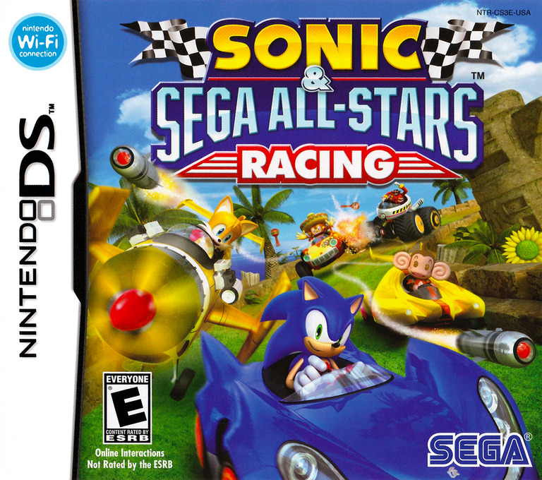 Sonic & Sega All-Stars Racing DS coverHQ (CS3E)