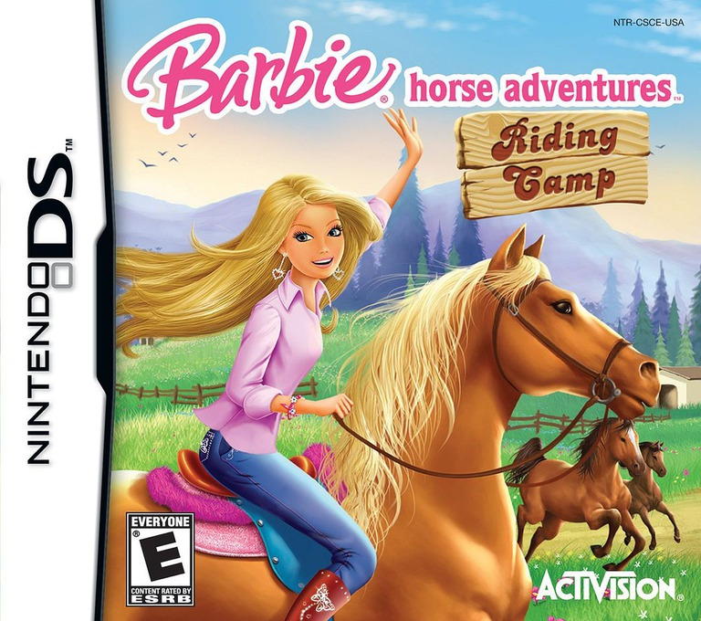 Barbie Horse Adventures - Riding Camp DS coverHQ (CSCE)