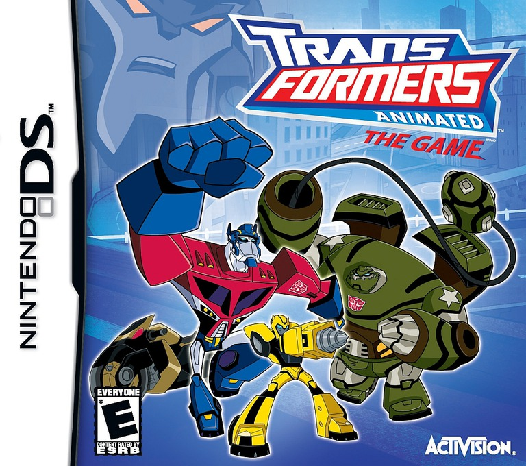 Transformers Animated - The Game DS coverHQ (CTFE)