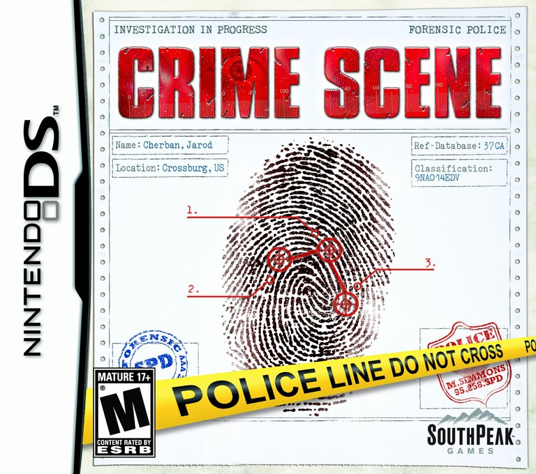 Crime Scene DS coverHQ (CUIE)
