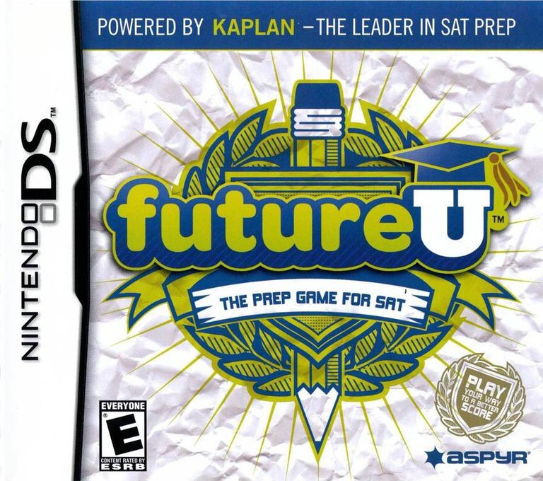 futureU - The Prep Game for SAT DS coverHQ (CUTE)