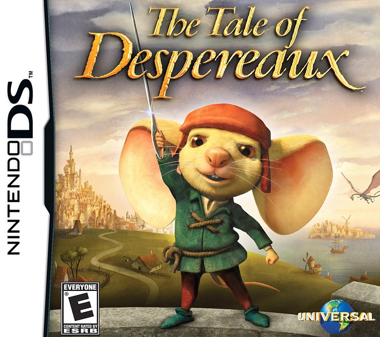The Tale of Despereaux DS coverHQ (CUXE)