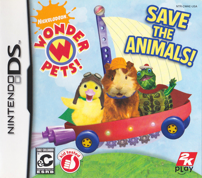 Wonder Pets! - Save the Animals! DS coverHQ (CWAE)
