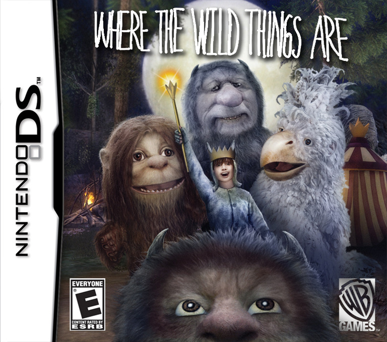 Where the Wild Things Are DS coverHQ (CWQE)