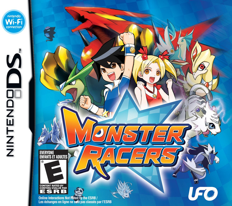Monster Racers DS coverHQ (CXME)