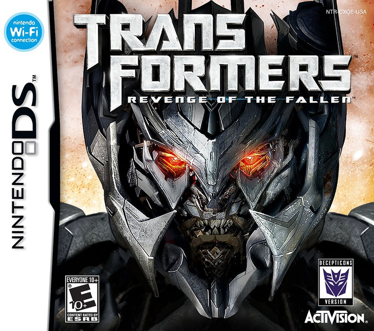 Transformers - Revenge of the Fallen - Decepticons Version DS coverHQ (CXOE)