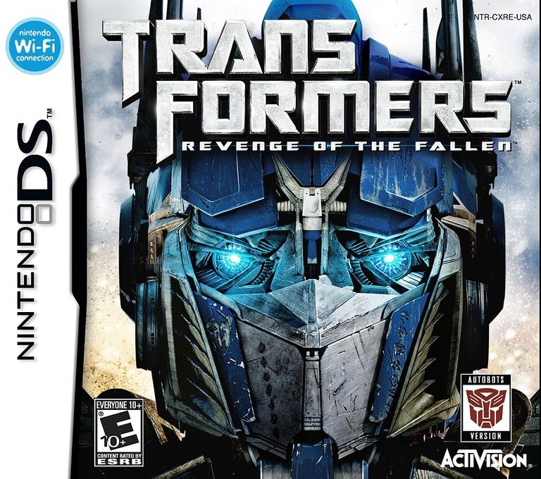 Transformers - Revenge of the Fallen - Autobots Version DS coverHQ (CXRE)