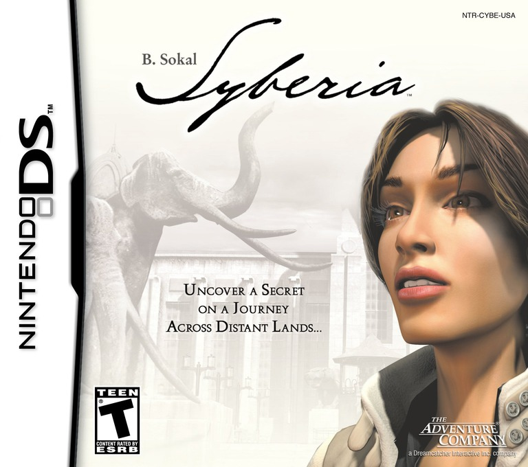 B. Sokal Syberia DS coverHQ (CYBE)
