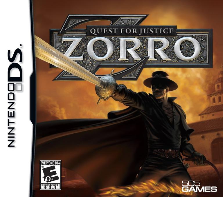 Zorro - Quest for Justice DS coverHQ (CZ4E)