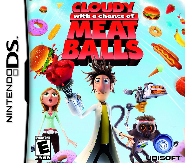 Cloudy with a Chance of Meatballs DS coverHQ (CZAE)