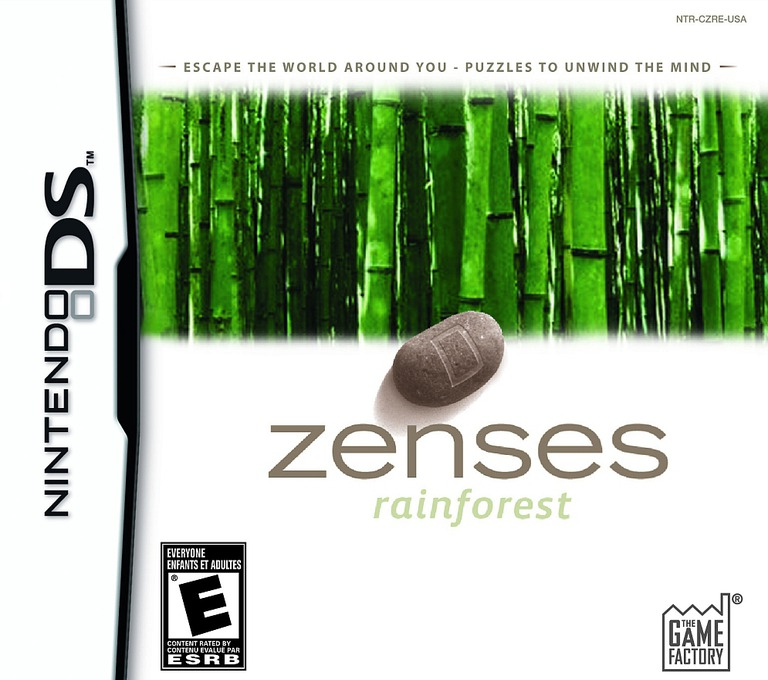 Zenses - Rainforest DS coverHQ (CZRE)