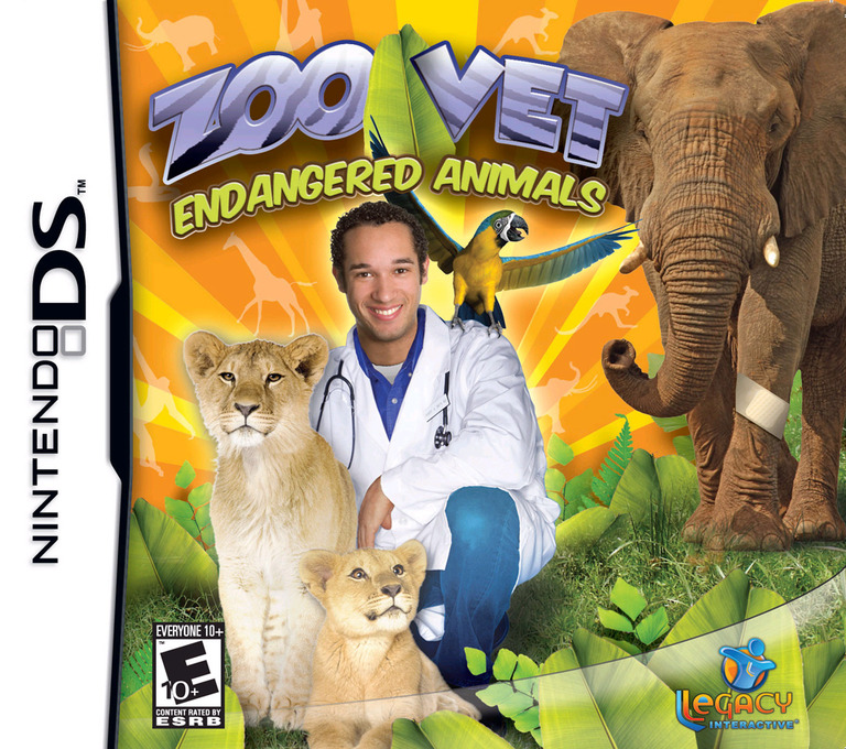 Zoo Vet - Endangered Animals DS coverHQ (CZVE)