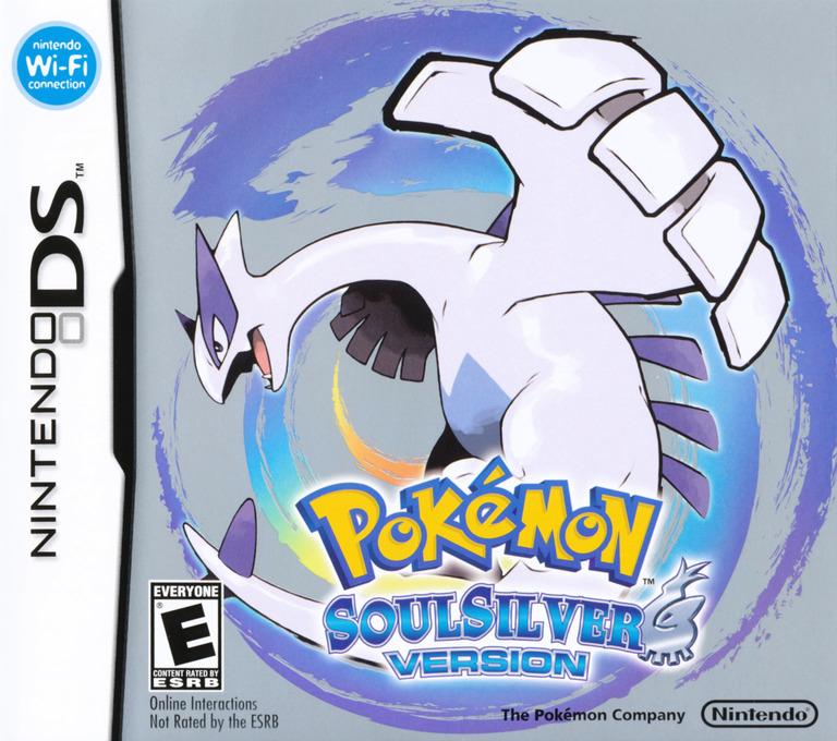 Pokémon - SoulSilver Version DS coverHQ (IPGE)