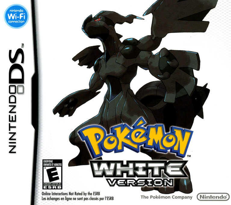 Pokémon - White Version DS coverHQ (IRAO)