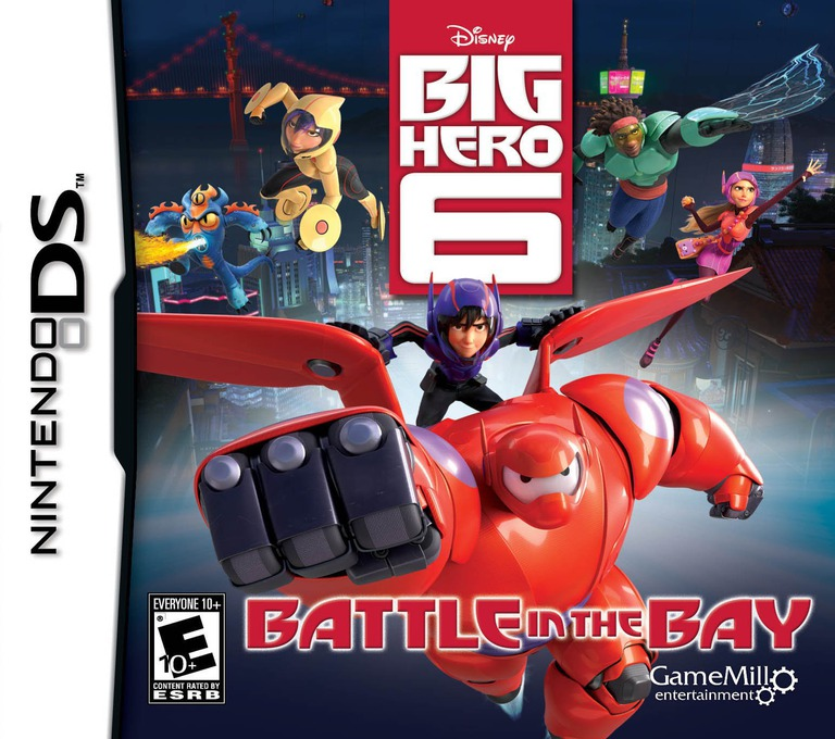 Disney Big Hero 6 - Battle in the Bay DS coverHQ (TB6E)