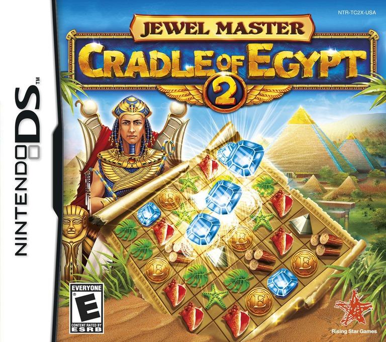 Jewel Master - Cradle of Egypt 2 DS coverHQ (TC2E)