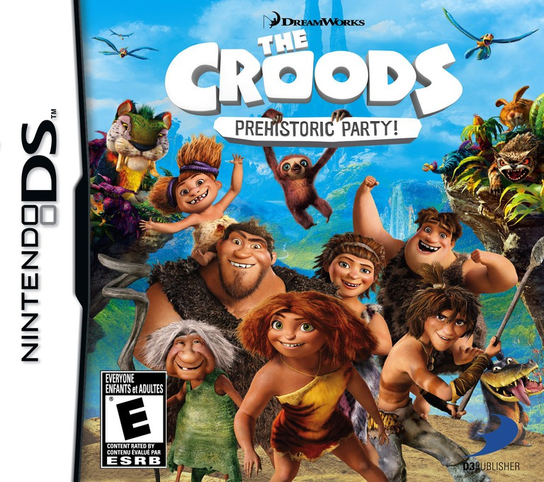 The Croods - Prehistoric Party! DS coverHQ (TCDE)