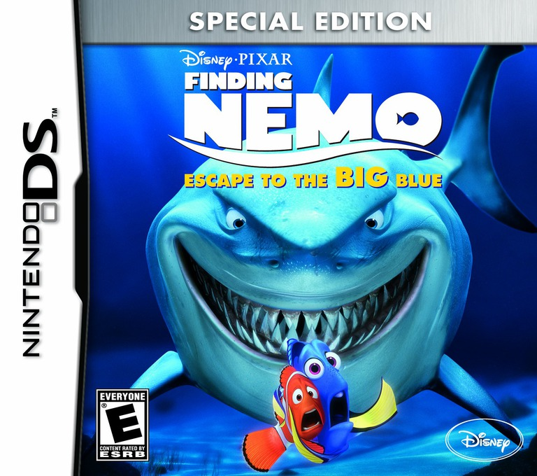 Finding Nemo - Escape to the Big Blue (Special Edition) DS coverHQ (TFNE)