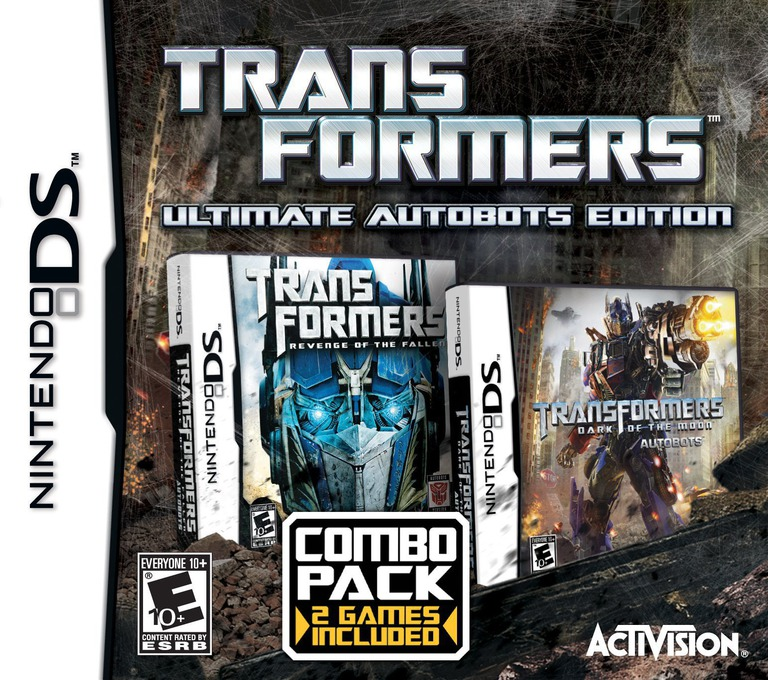 Transformers - Ultimate Autobots Edition DS coverHQ (TLKE)