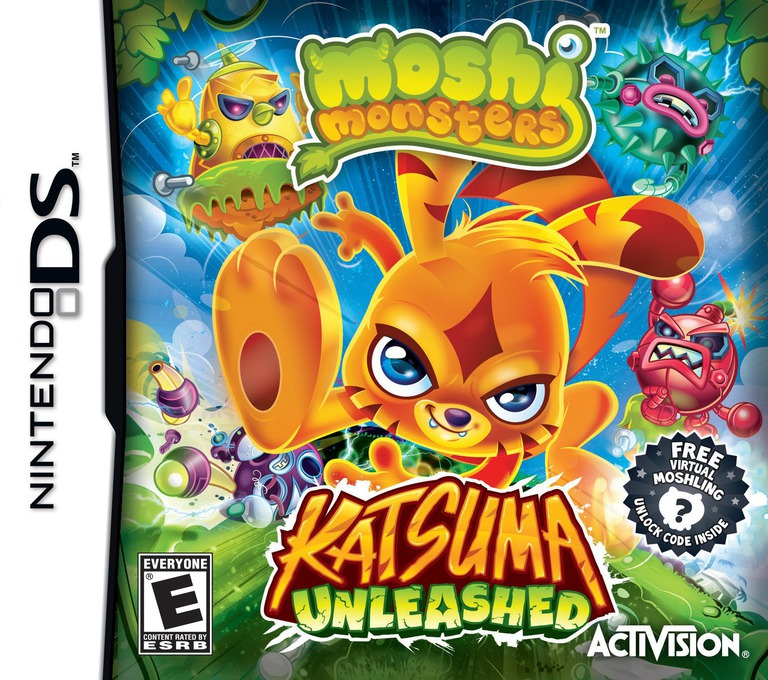 Moshi Monsters - Katsuma Unleashed DS coverHQ (TLVE)