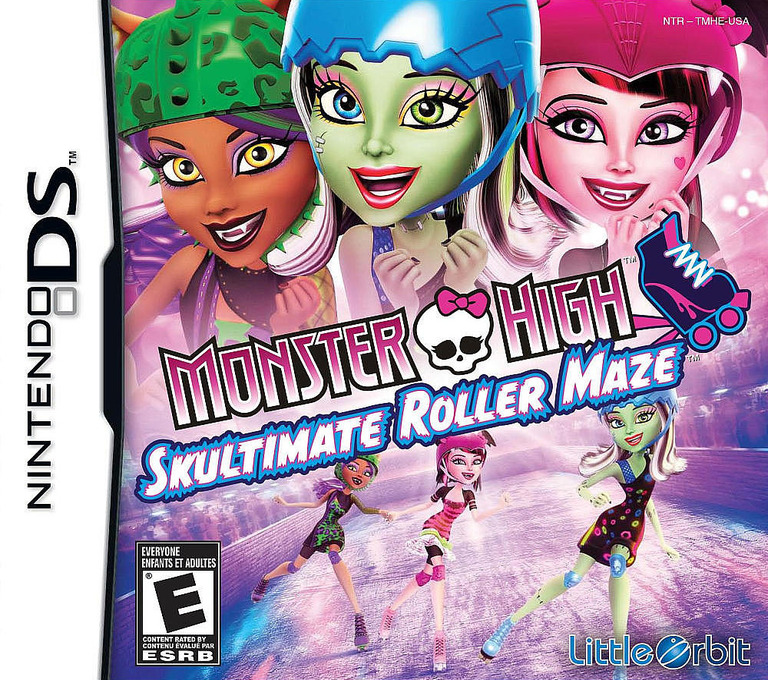 Monster High - Skultimate Roller Maze DS coverHQ (TMHE)