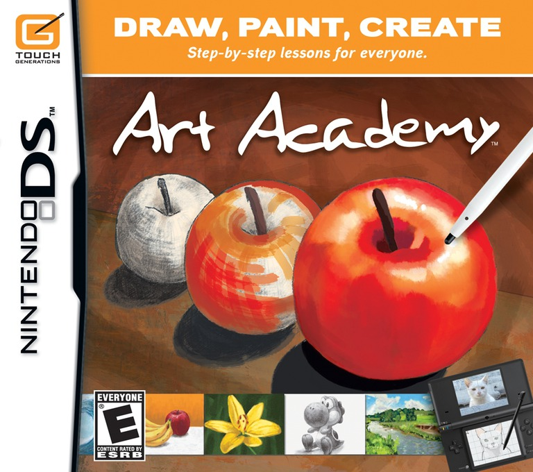 Art Academy DS coverHQ (VAAE)