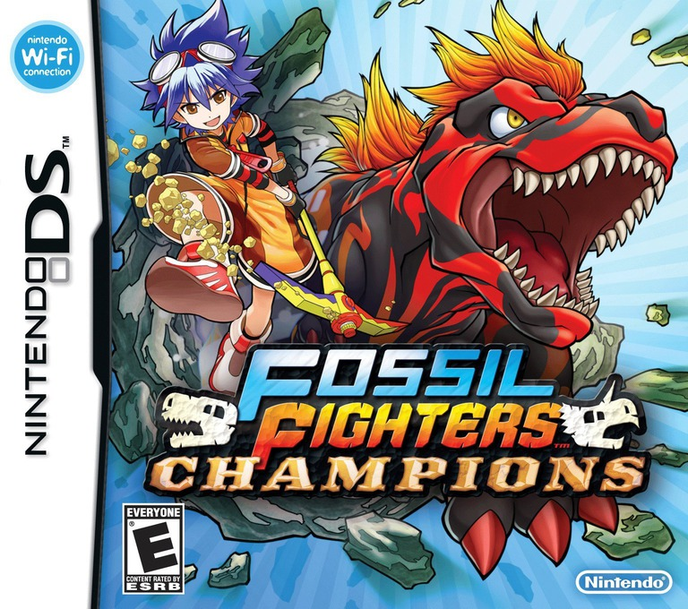 Fossil Fighters Champions DS coverHQ (VDEE)