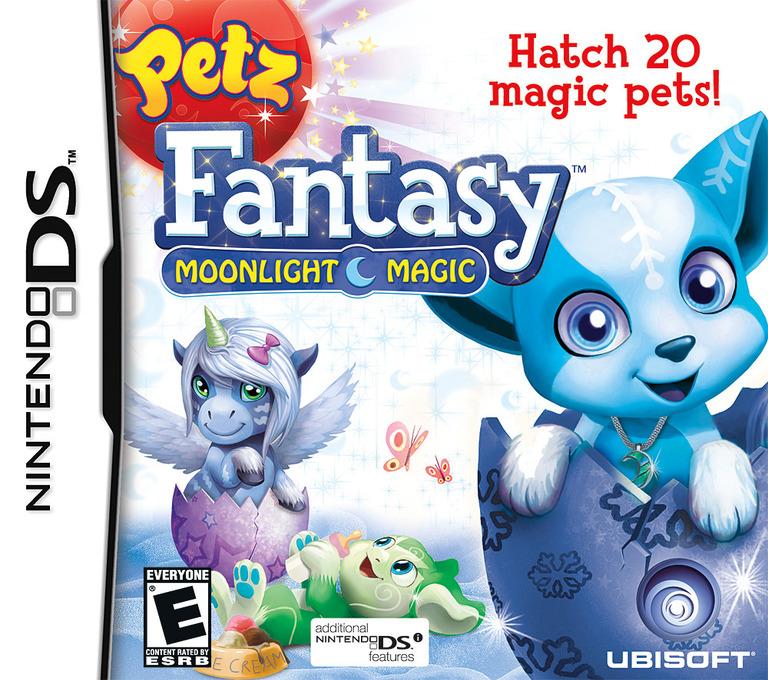 Petz Fantasy - Moonlight Magic DS coverHQ (VFBE)