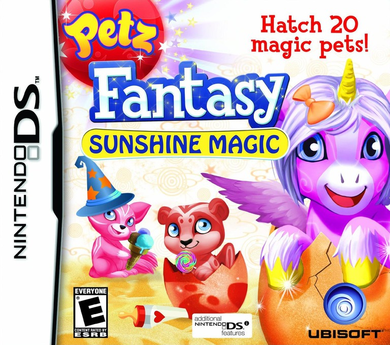 Petz Fantasy - Sunshine Magic DS coverHQ (VFZE)