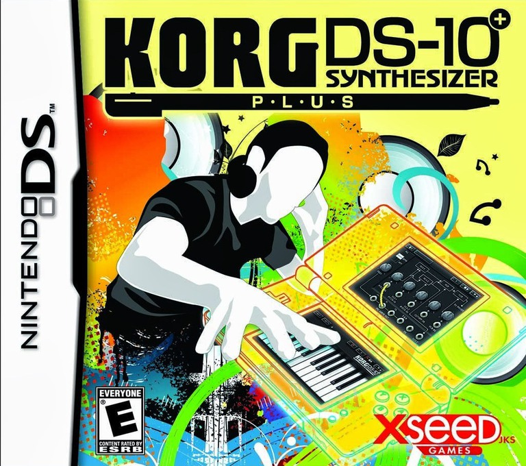 Korg DS-10+ Synthesizer DS coverHQ (VKGE)