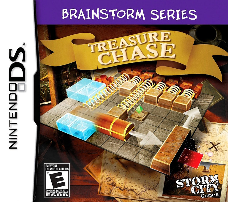 Brainstorm Series - Treasure Chase DS coverHQ (VKHE)