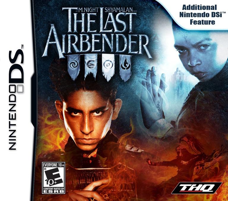 An M. Night Shyamalan Film - The Last Airbender DS coverHQ (VLAE)