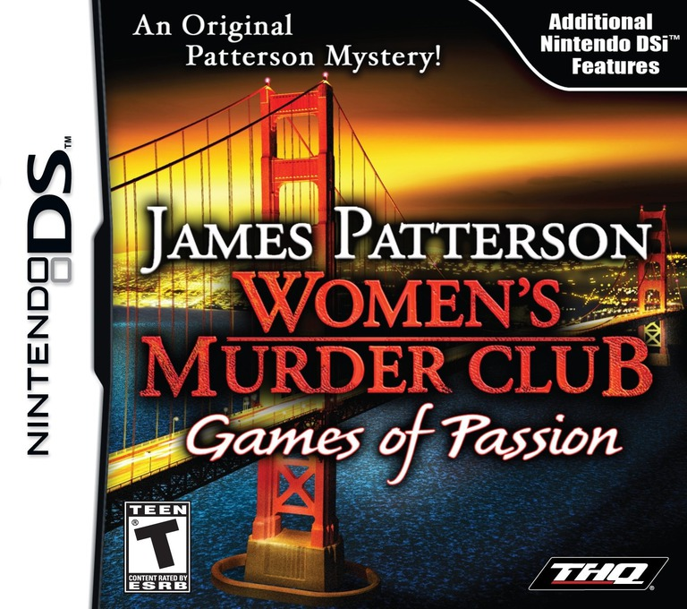 James Patterson Women's Murder Club - Games of Passion DS coverHQ (VMCE)