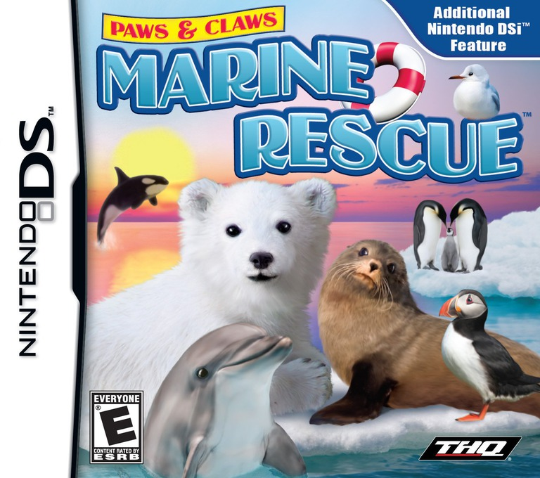 Paws & Claws - Marine Rescue DS coverHQ (VMEE)