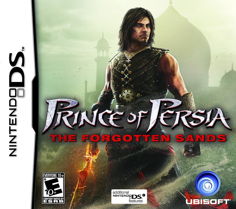 Prince of Persia - The Forgotten Sands DS coverHQ (VPPE)