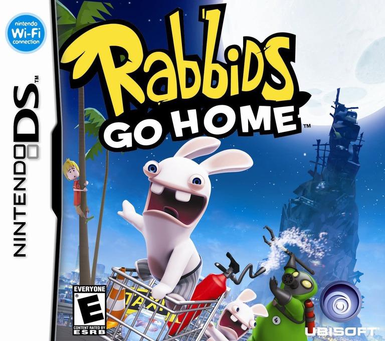 Rabbids Go Home - A Comedy Adventure DS coverHQ (VRGE)