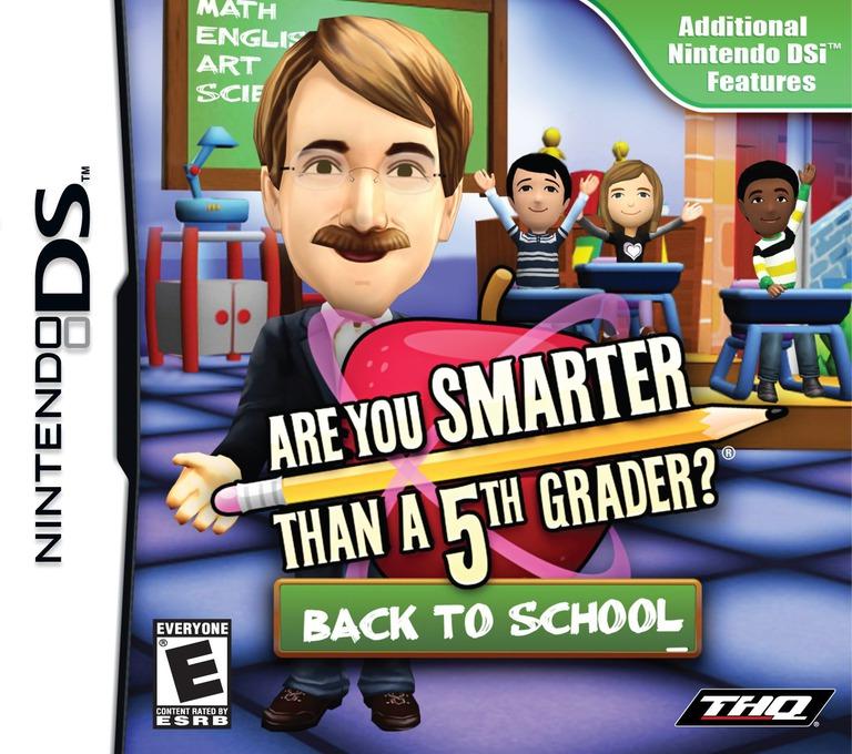 Are You Smarter than a 5th Grader - Back to School DS coverHQ (VS5E)