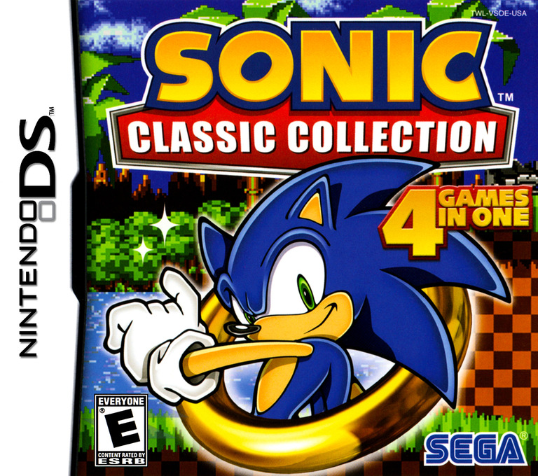 Sonic Classic Collection DS coverHQ (VSOE)