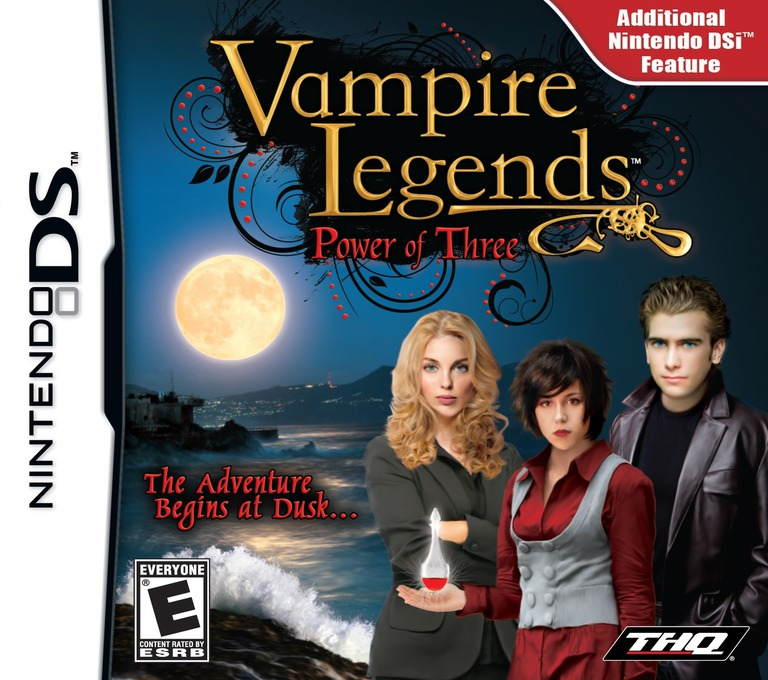 Vampire Legends - Power of Three DS coverHQ (VWVE)