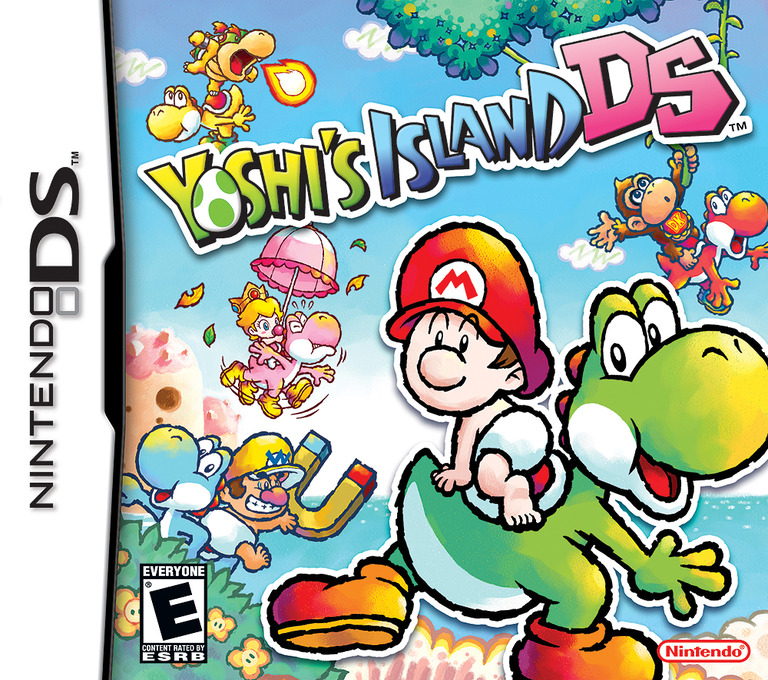 Yoshi's Island DS DS coverHQ (Y28E)