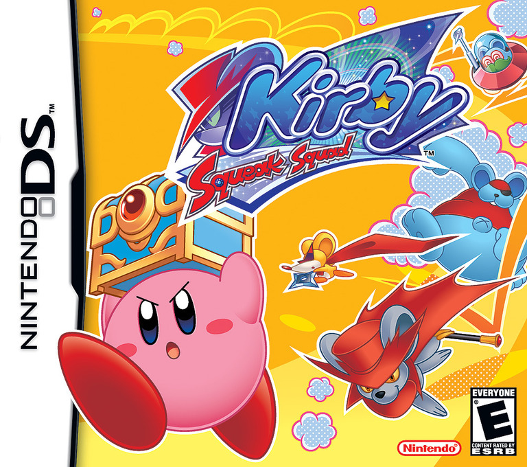 Kirby - Squeak Squad (Demo) DS coverHQ (Y2ME)