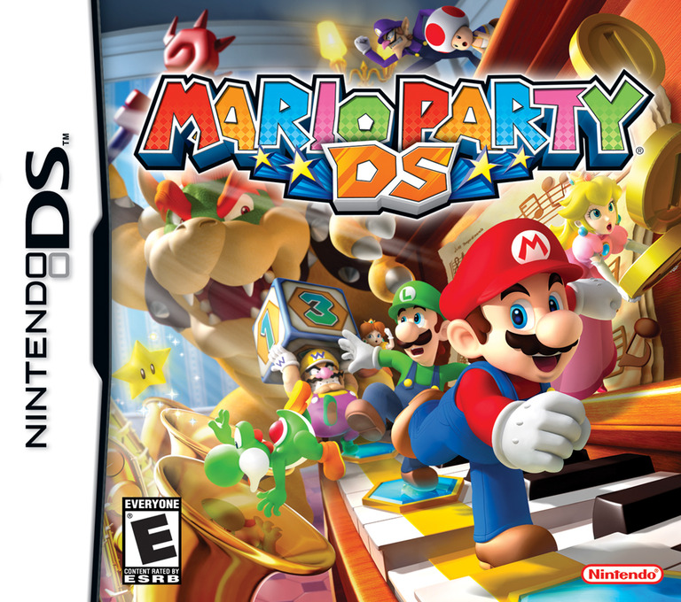Mario Party DS (Demo) DS coverHQ (Y4YE)