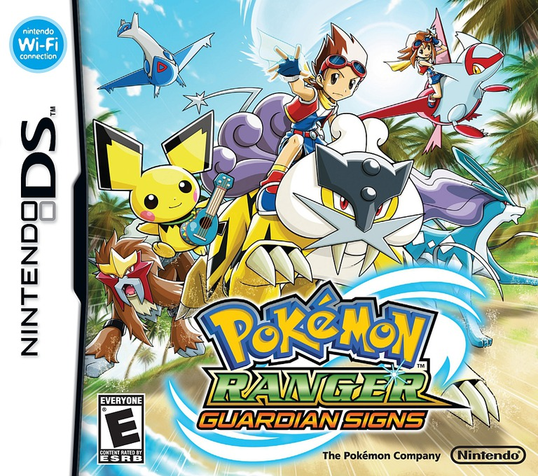 Pokémon Ranger - Guardian Signs (Demo) DS coverHQ (Y8FE)