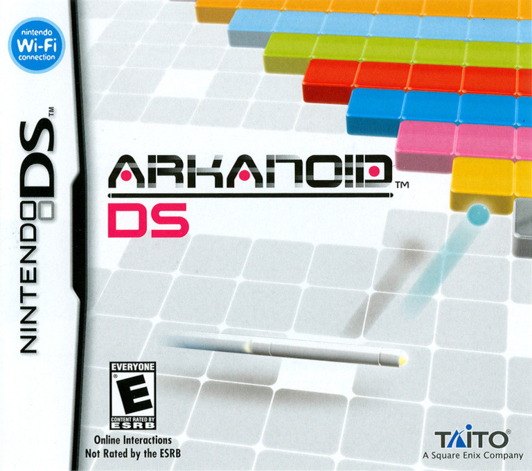 Arkanoid DS DS coverHQ (YAAE)