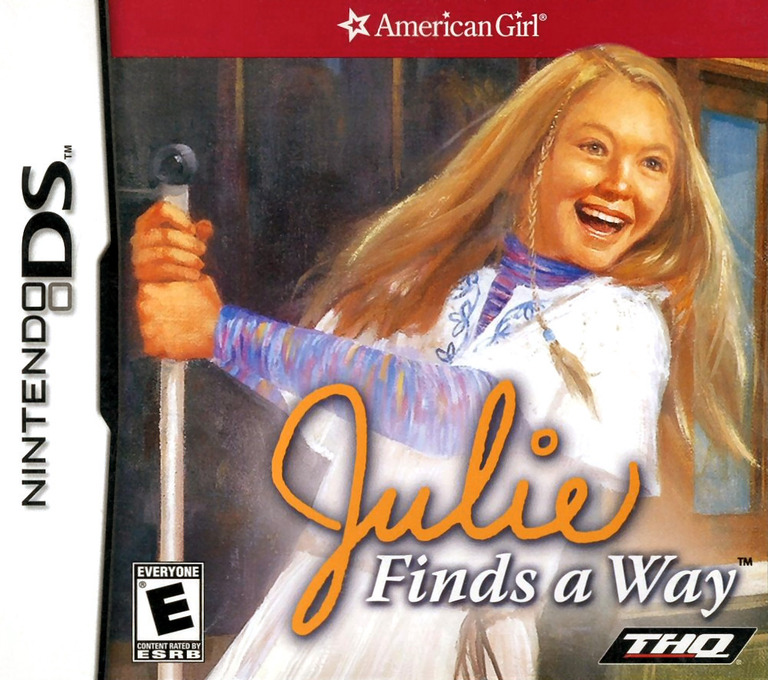 American Girl - Julie Finds a Way DS coverHQ (YAJE)