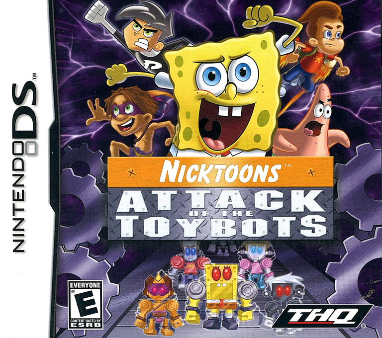 Nicktoons - Attack of the Toybots DS coverHQ (YAYE)
